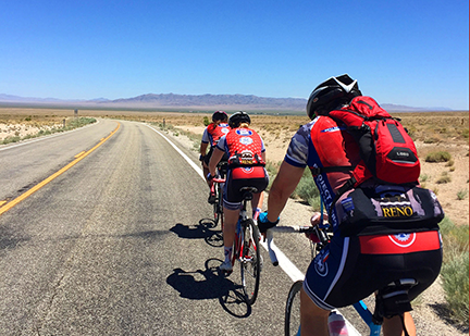 Bicycle Ride Across Nevada