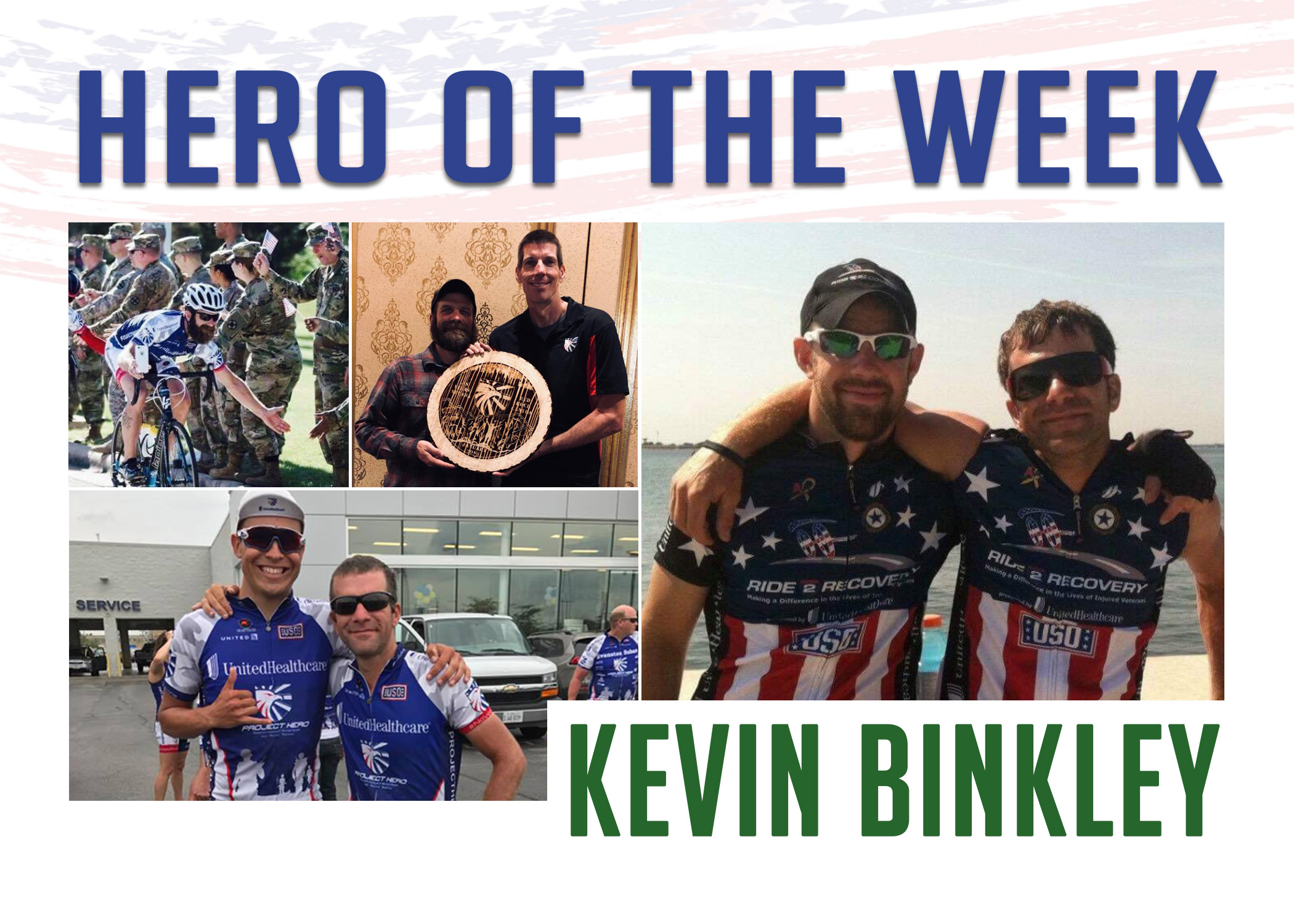 Hero of the Week: Kevin Binkley